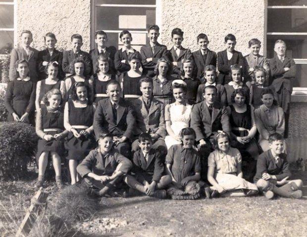 Mooncoin Vocational School: 1945-1946