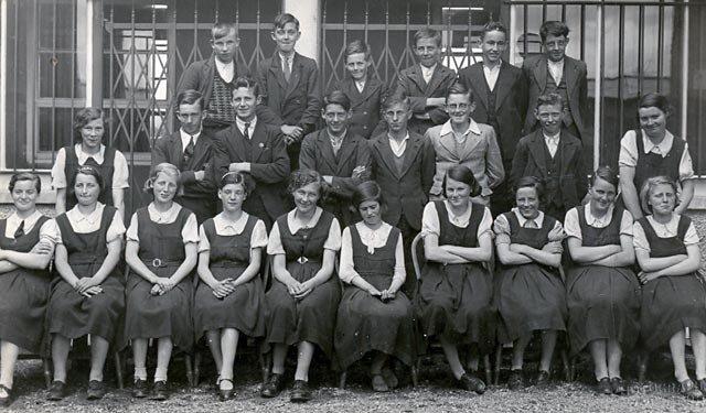 Mooncoin Vocational School 1939-1940