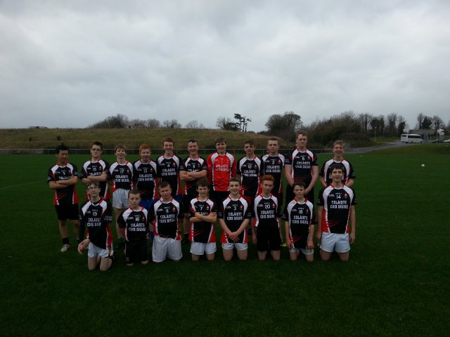U16 Gaelic Football 2015/2016
