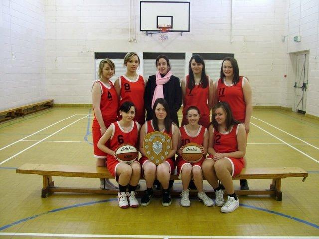 U16 Girls Basketball Team