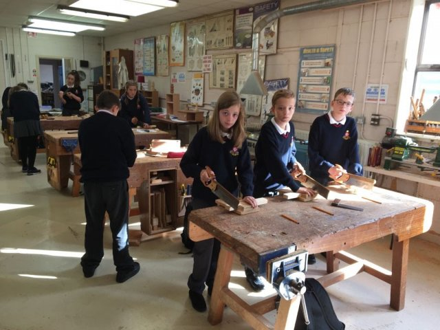 woodwork first years
